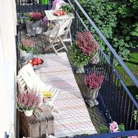 Balconul, spatiu de relaxare, nu loc de uscat rufele