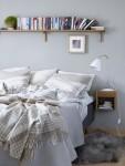 Dormitor cu mobilier lemn Norrgavel