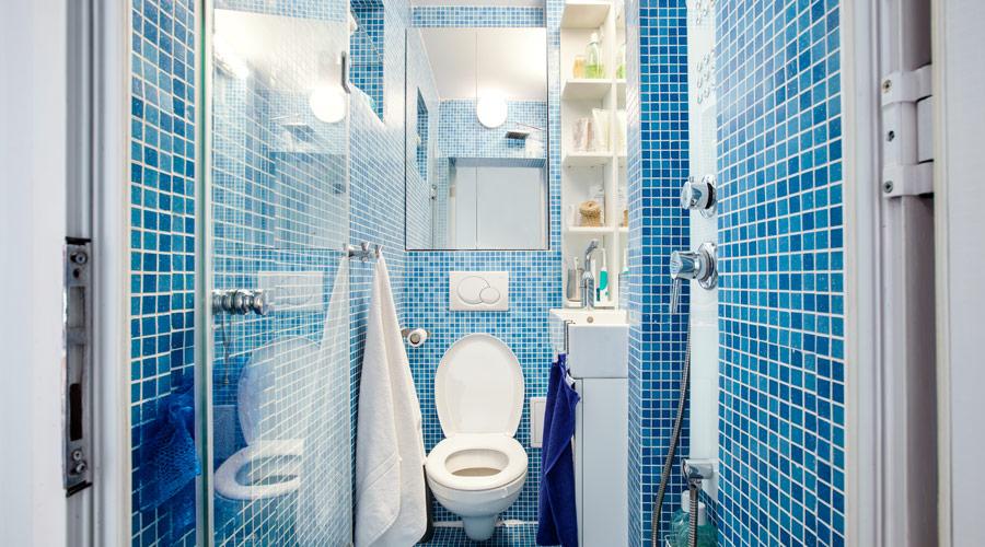 Cum sa amenajam o baie mica foarte mica minuscula idei for Amenajare baie garsoniera