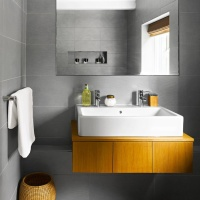 Idei pentru o baie mica si moderna / Ideas for a small and modern bathroom