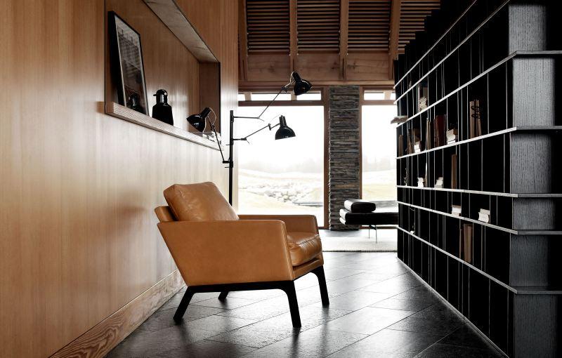perete_placat_lemn_biblioteca