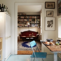 Mix de vechi si nou intr-un apartament de o camera / Mix of old and new in a 1 room apartment