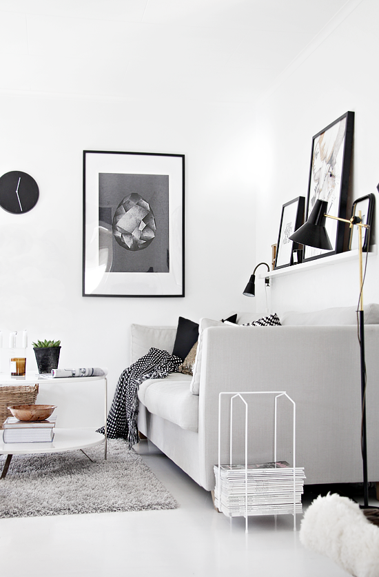 Alb negru scandinav scandinavian black and white - Scandinavian interior design magazine ...