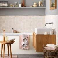 Utilizarea lemnului in baie / Wood in bathroom design